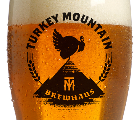 Turkey Mountain Brewhaus Glassware