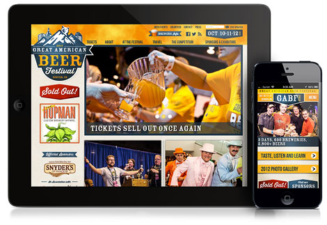 Great American Beer Festival Website