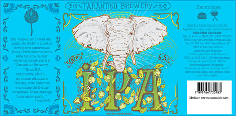 Taratino IPA Label