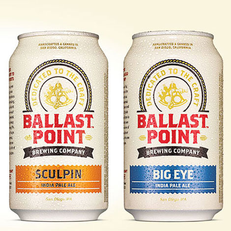 Ballast Point Cans