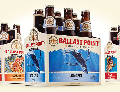 Ballast Point Six Pack