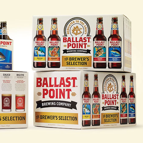 Ballast Point Packaging