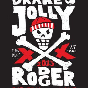 Drake's Jolly Rodger 2013