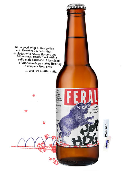 Feral Hop Hog Bottle