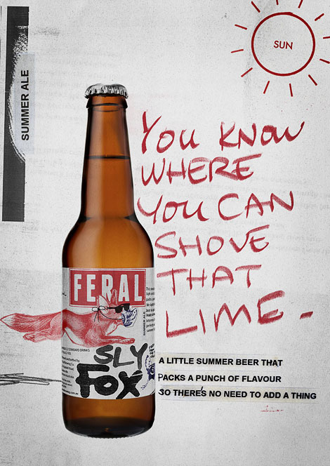Feral Sly Fox Ad