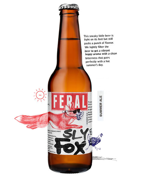 Feral Sly Fox Bottle