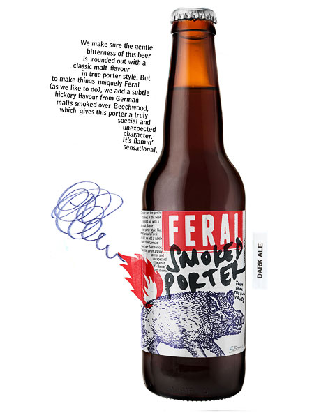 Feral Smoked Porter Bottle