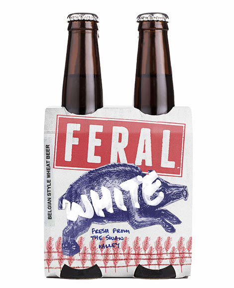 Feral White Packaging