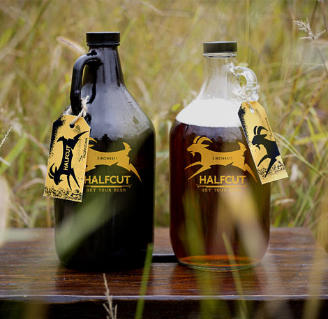 HalfCut Growlers