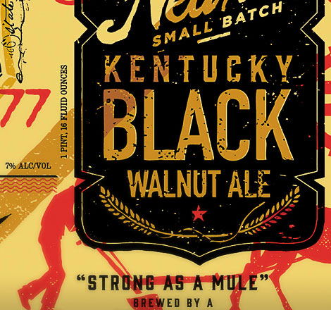 Kentucky Black Walnut Ale Label