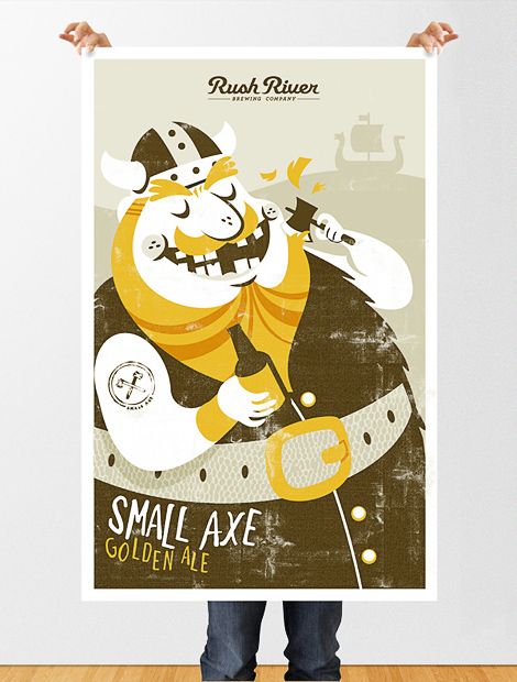 Rush River Small Axe Poster