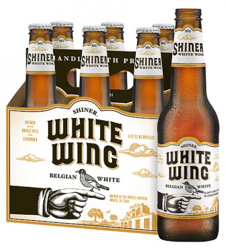 Shiner White Wing Packaging