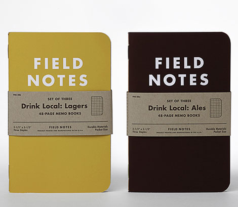 "Field Notes ""Drink Local"" Tasting Books"