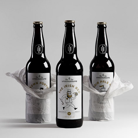 Underground Beer Club Bottles