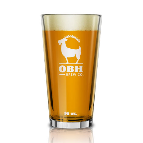 Old Bust Head Brewing Glassware