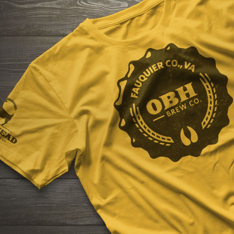Old Bust Head Brewing Shirt