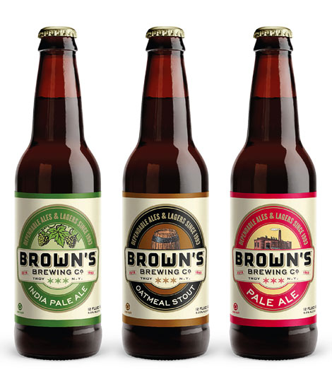 Brown's Brewing Bottles