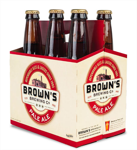 Brown's Brewing Six Pack