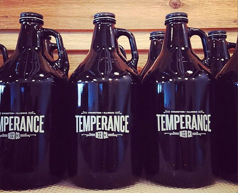 Temperance Beer Co. Growlers