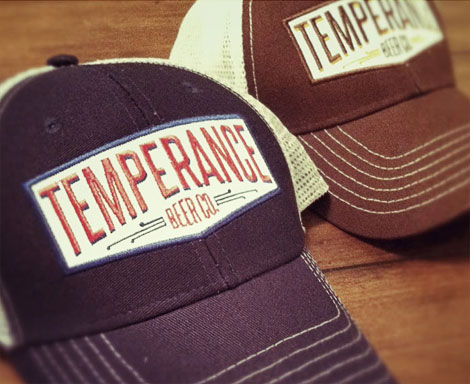 Temperance Beer Co. Hats