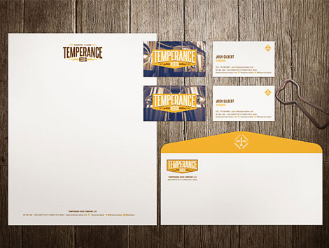 Temperance Beer Co. Stationery