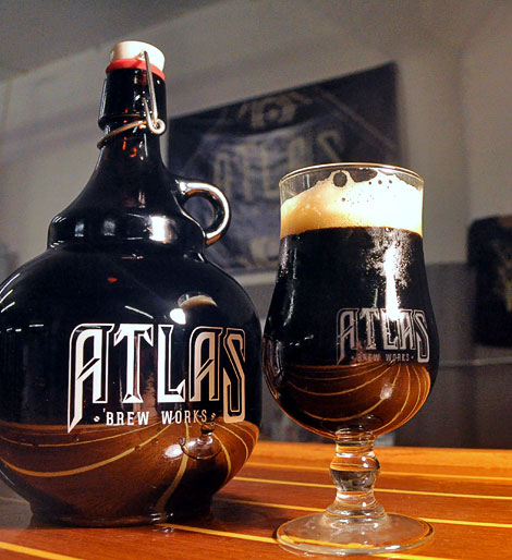 Atlas Brew Works Growler
