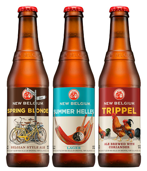 New Belgium Bottles