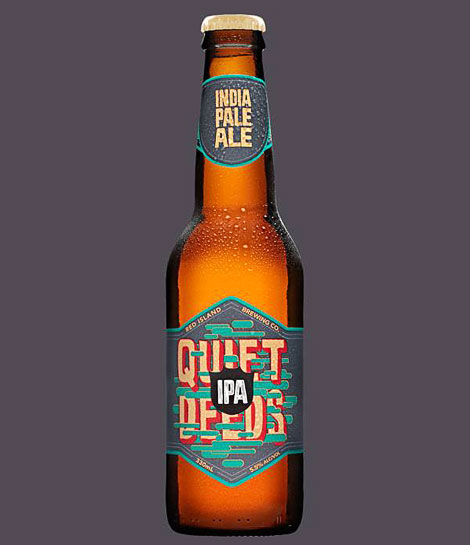 Quiet Deeds IPA Bottle