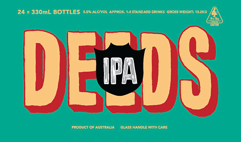 Quiet Deeds IPA Case