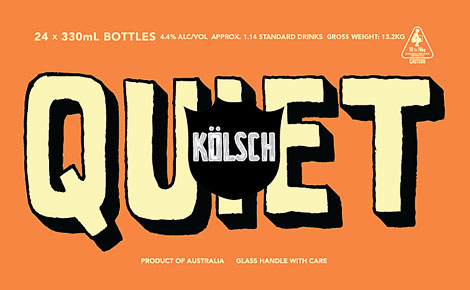 Quiet Deeds Kolsch Case