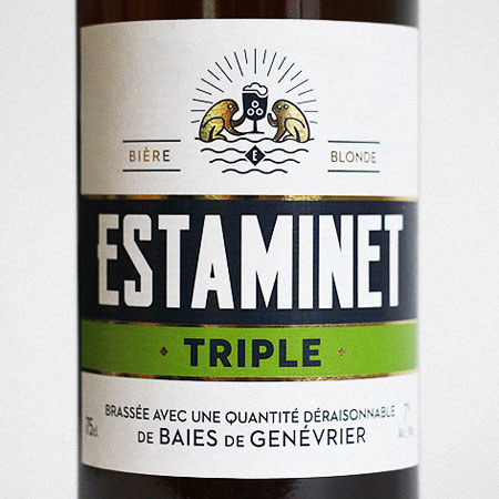 Estaminet Triple Bottle