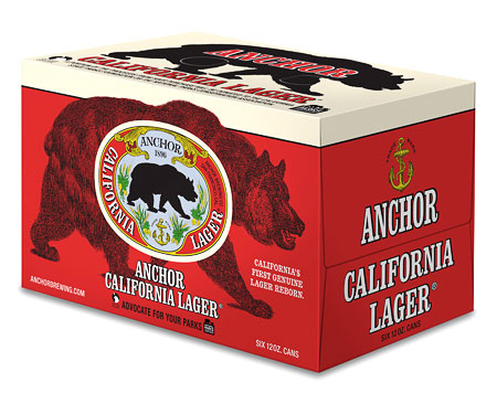 Anchor California Lager Cans