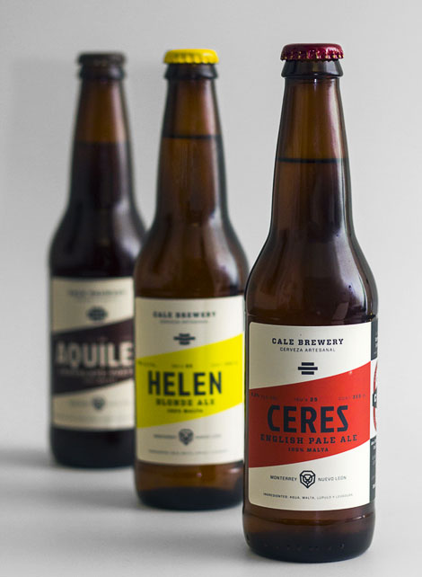 Cale Brewery Bottles