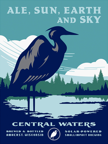 Central Waters Brewing Poster