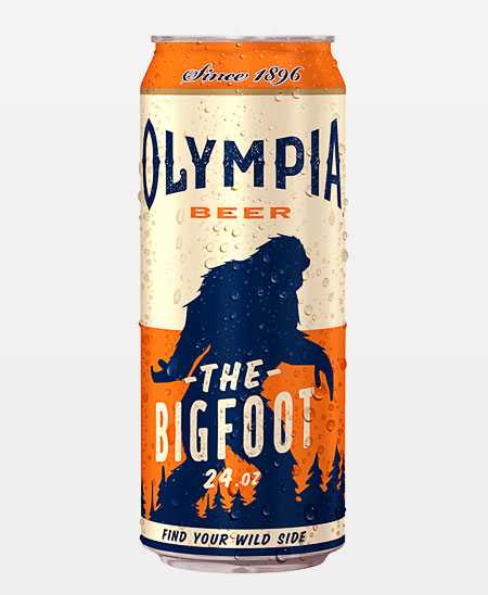 Olympia Beer Can
