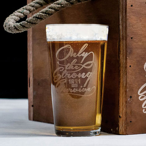 Hardwired Beer Glass