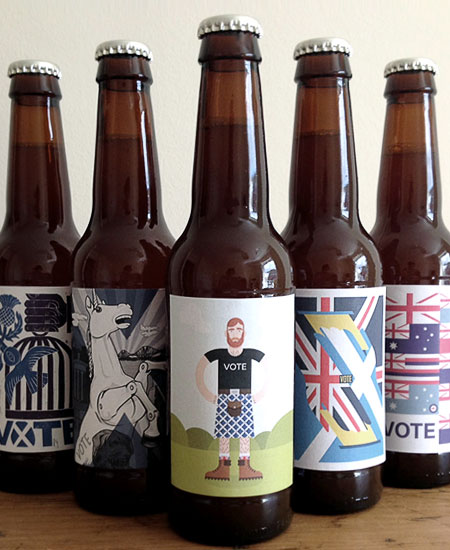 Scottish Referendum Beer