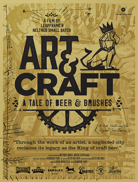 Art Craft A Tale Of Beer Brushes Oh Beautiful Beer