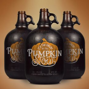 Pumpkin Stout Growler