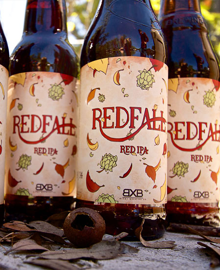 Redfall Red IPA Bottles