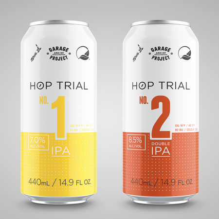 Hop Trial Cans