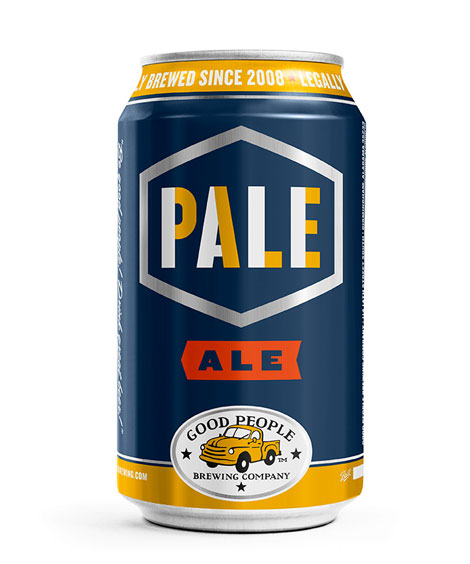 Good People Pale Ale Can