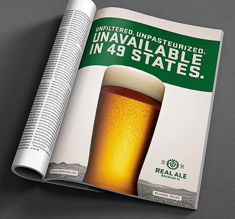 Real Ale Ad