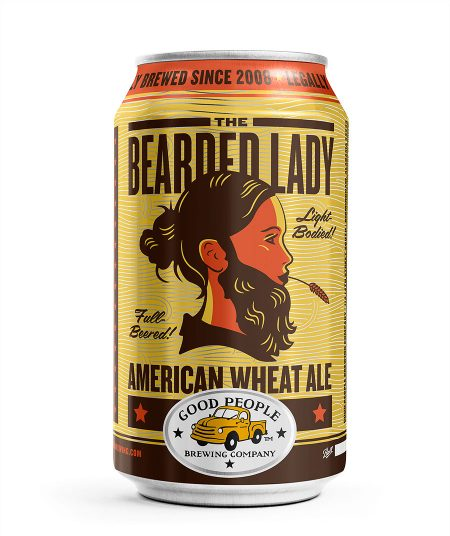 Bearded Lady Can