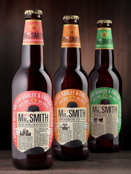 Mr. Smith Beer Bottles