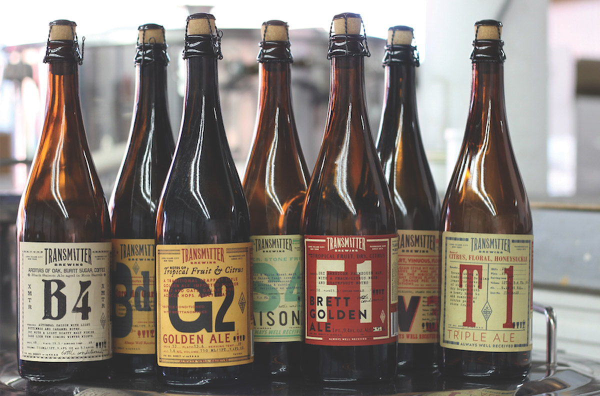 Transmitter Brewing Bottles