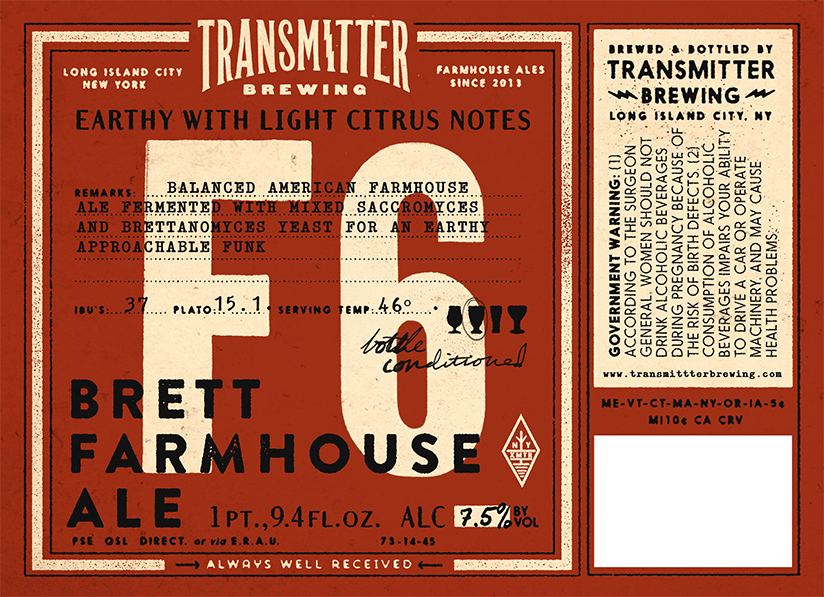Transmitter Brewing F6