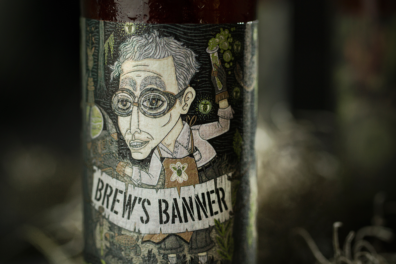 Coppertail Brews Banner Imperial IPA
