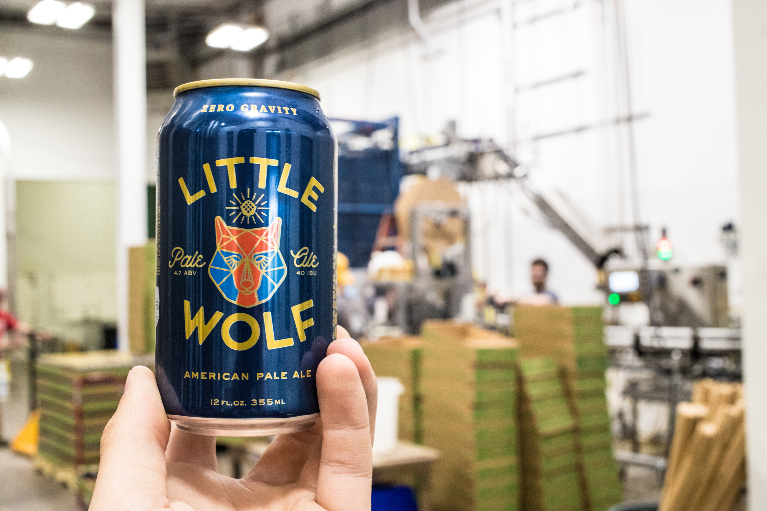 Little Wolf Beer Can