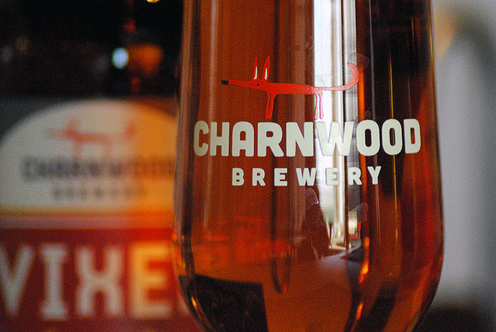 Charnwood Brewery Glassware